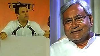 Video : Rahul vs Nitish: Really a clash of the titans?