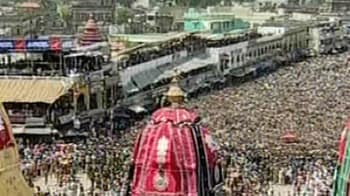 Videos : Jagannath Rath Yatra begins in Puri