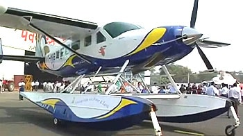 Video : The Seaplane finally comes to India