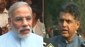 Video : BJP-Congress spat over WikiLeaks