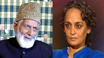 Video : Should sedition cases be filed against Arundhati Roy and Geelani?