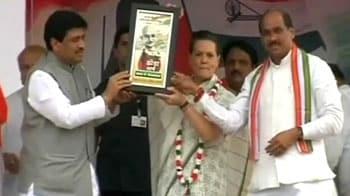 Video : Sonia Gandhi pulls up Maharashtra Congress