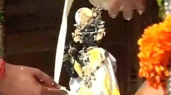 Video : Janmashtami celebrations at Iskcon temple
