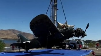 Video : Rare World War II Helldiver plane recovered