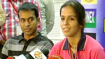 Video : My aim is to win an Olympics medal: Saina