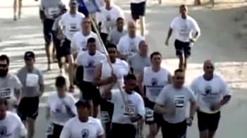 Video : Troops mark 9/11 with memorial run