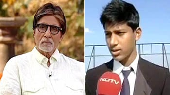 Video : Big B educates children about tiger conservation