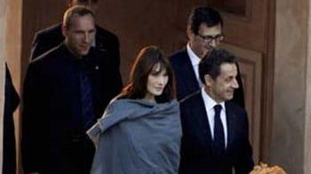 Video : Sarkozy, Bruni's date with the Taj Mahal