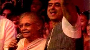 Videos : 'दिल्ली मेरी जान' पर झूम उठीं शीला