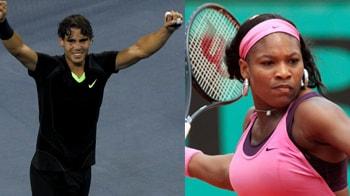 Video : Serena Williams tweets 'Nadal is so cute'