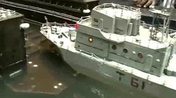 Video : Indian Navy's floating dock