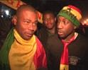 Ghanian fans ecstatic