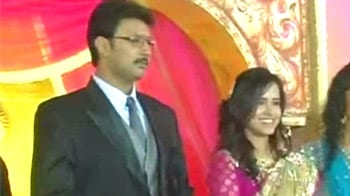 Video : The united colours of DMK at family wedding in Madurai