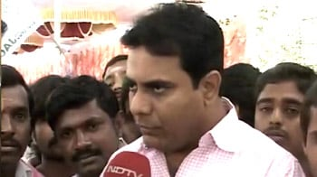 Video : KCR to address rally today, his son explains stand