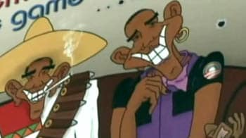 Video : Billboard showing Obama as a terrorist, Mexican bandit, draws scorn