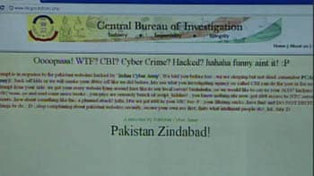 Video : CBI website hacked by 'Pak Cyber Army'