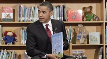 Video : Barack Obama goes back to school