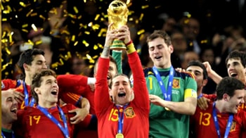 Video : Spain rules the soccer world