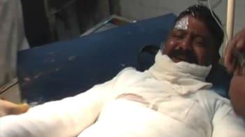 Video : Mumbai constable set ablaze for slapping fine