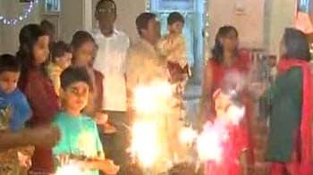 Video : Diwali celebrations: Bangalore, Chennai, Delhi and Mumbai