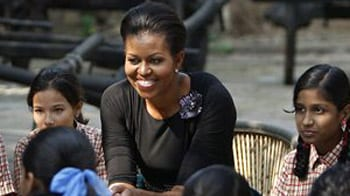 Video : Michelle gets a taste of India at Crafts Museum