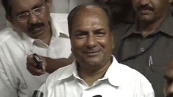 Video : Happy that Army chief asked for CBI inquiry: Antony on Adarsh scam