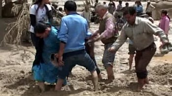Video : Leh flash floods: More than 50 dead, many missing