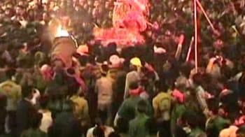 Videos : इलाहाबाद में मुहर्रम का जुलूस