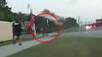 Video : Naked man tasered in Florida