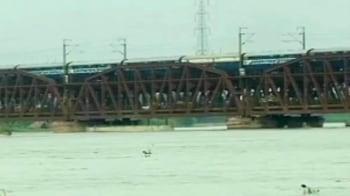 Video : Flood alert in Haryana, Delhi