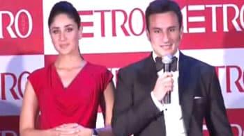 Video : Saif and Kareena apologise