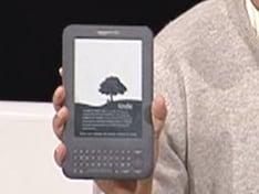 The new Amazon Kindle 3