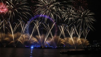 Video : Ushering in the New Year, in style
