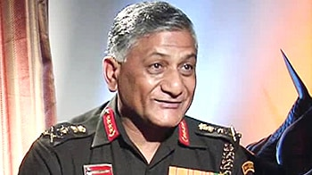 Video : Pak terror infrastructure intact: Army chief to NDTV