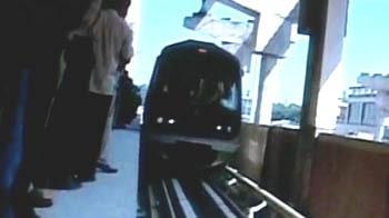 Videos : बेंगलुरु में मेट्रो ट्रायल रन सफल