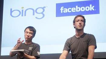 "Video : Facebook's Zuckerberg ""friends"" Microsoft Bing"
