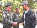 Video : Dhoni meets bravehearts