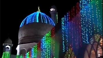 Video : Kashmir valley's night of peace