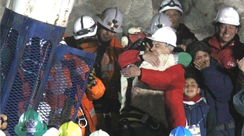 Video : Chilean miners: Free at last