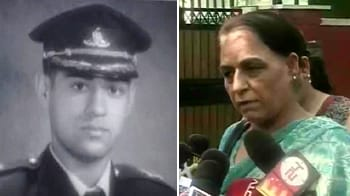 Video : I want justice for my son, says Army officer's mother