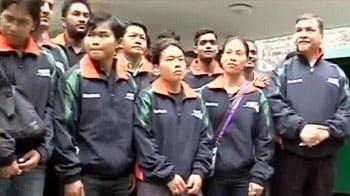 Video : No problem at Games Village: Indian team
