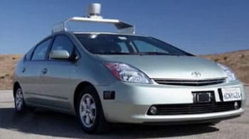 Video : Google road testing driverless car