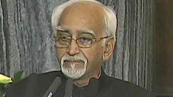 Video : Hamid Ansari's address to Parliament