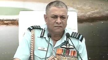 Video : Security scenario alarming, says IAF chief