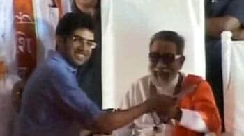 Videos : बाला साहेब ने किया पोते को लॉन्च