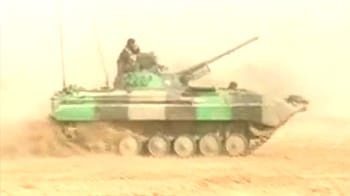 Video : Indian Army's most lethal arm - the T90 tank