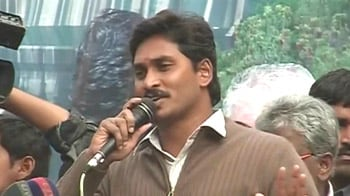 Video : Jagan stages show of strength in Delhi; Congress on backfoot