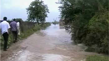 Video : Flood threat in Faridabad