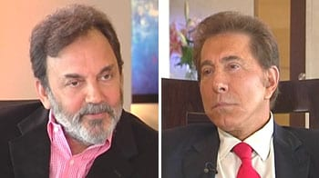 Video : Casino czar Steve Wynn talks to NDTV