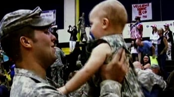 Video : Happy homecoming for US troops from Iraq